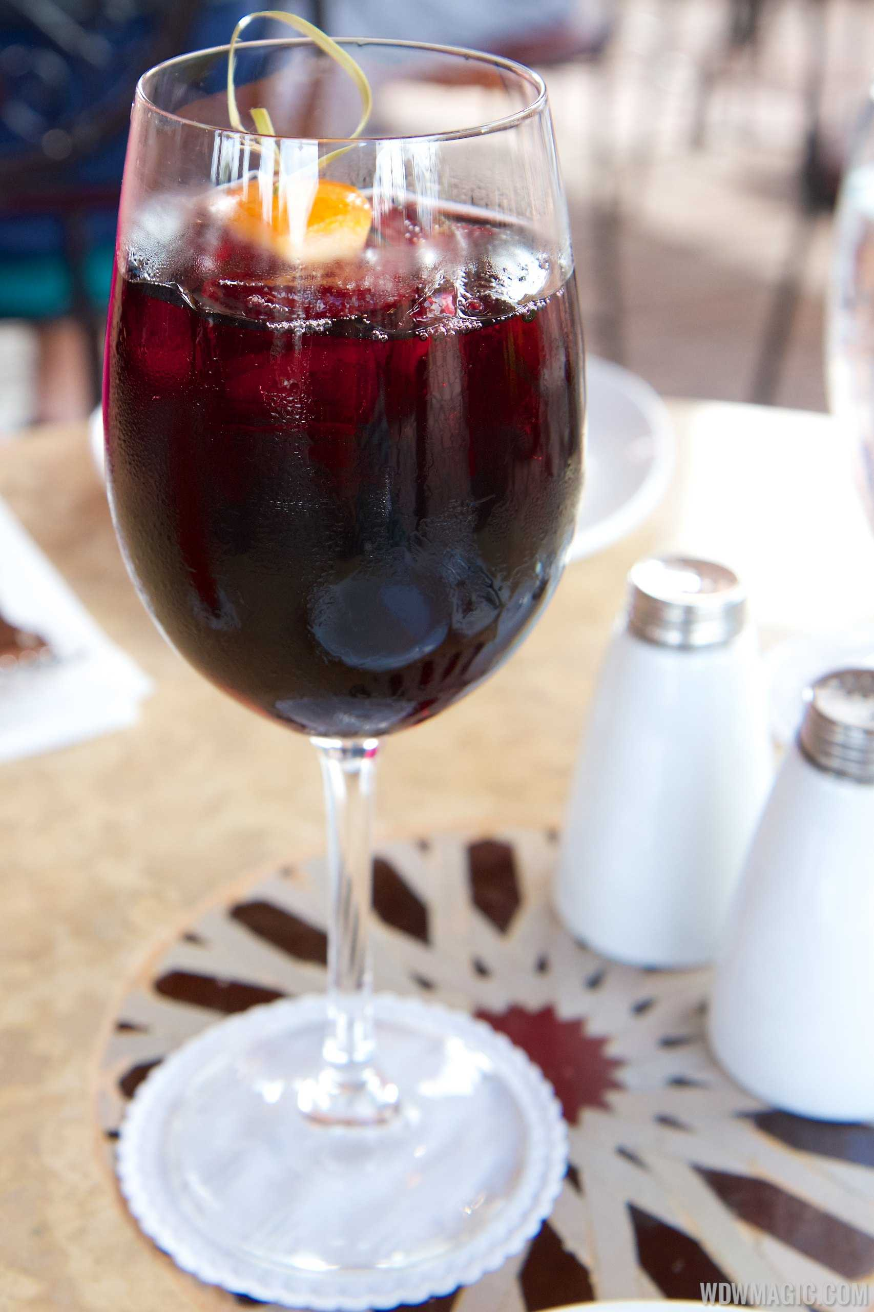 Spice Road Table - Red Sangria $9.99