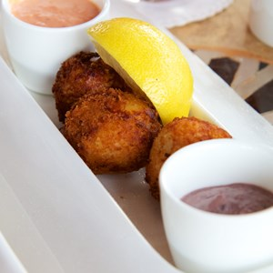 19 of 26: Spice Road Table - Spice Road Table - Salted Cod Croquettes $10