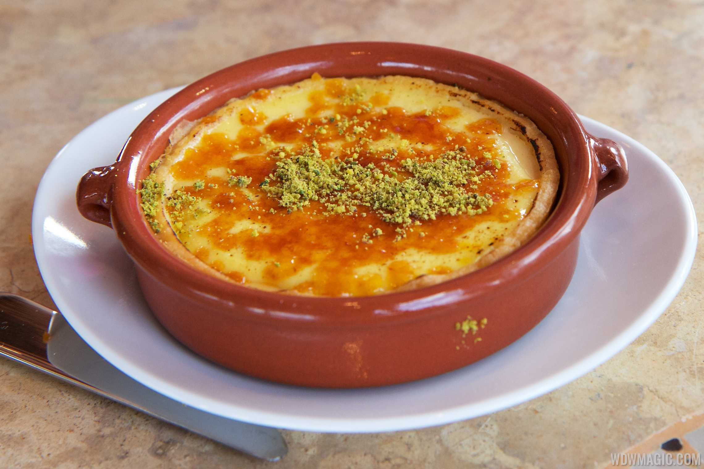 Spice Road Table - Safron and Lemon Custard $7