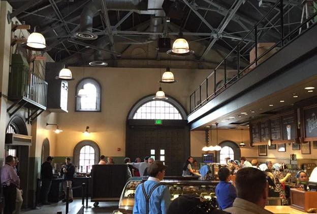 Inside The Trolley Car Café - first look