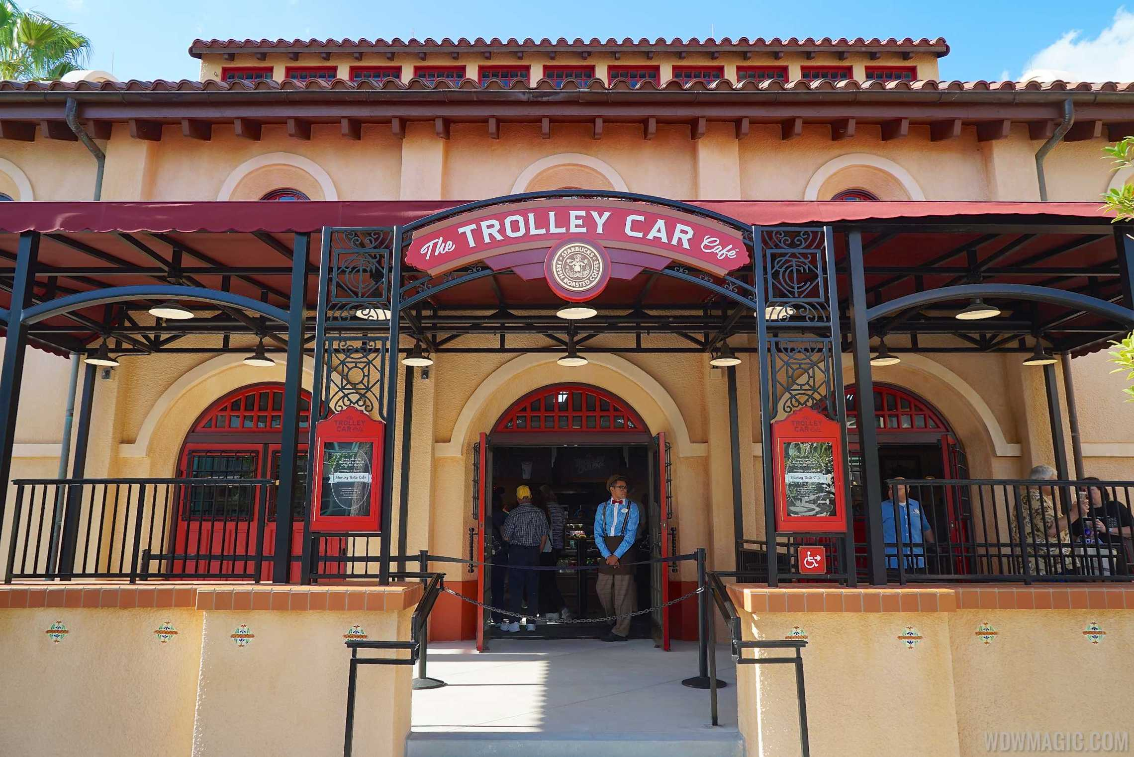 the trolley car caf overview