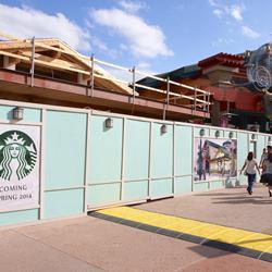 Starbucks Marketplace construction