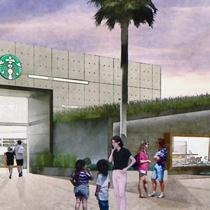 1 of 1: Starbucks West Side - Starbucks West Side concept art