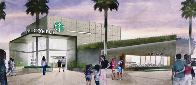Starbucks West Side - Starbucks West Side concept art