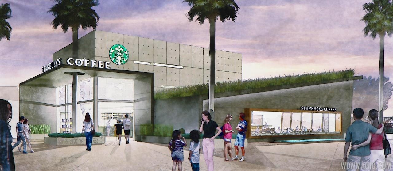 Starbucks West Side concept art