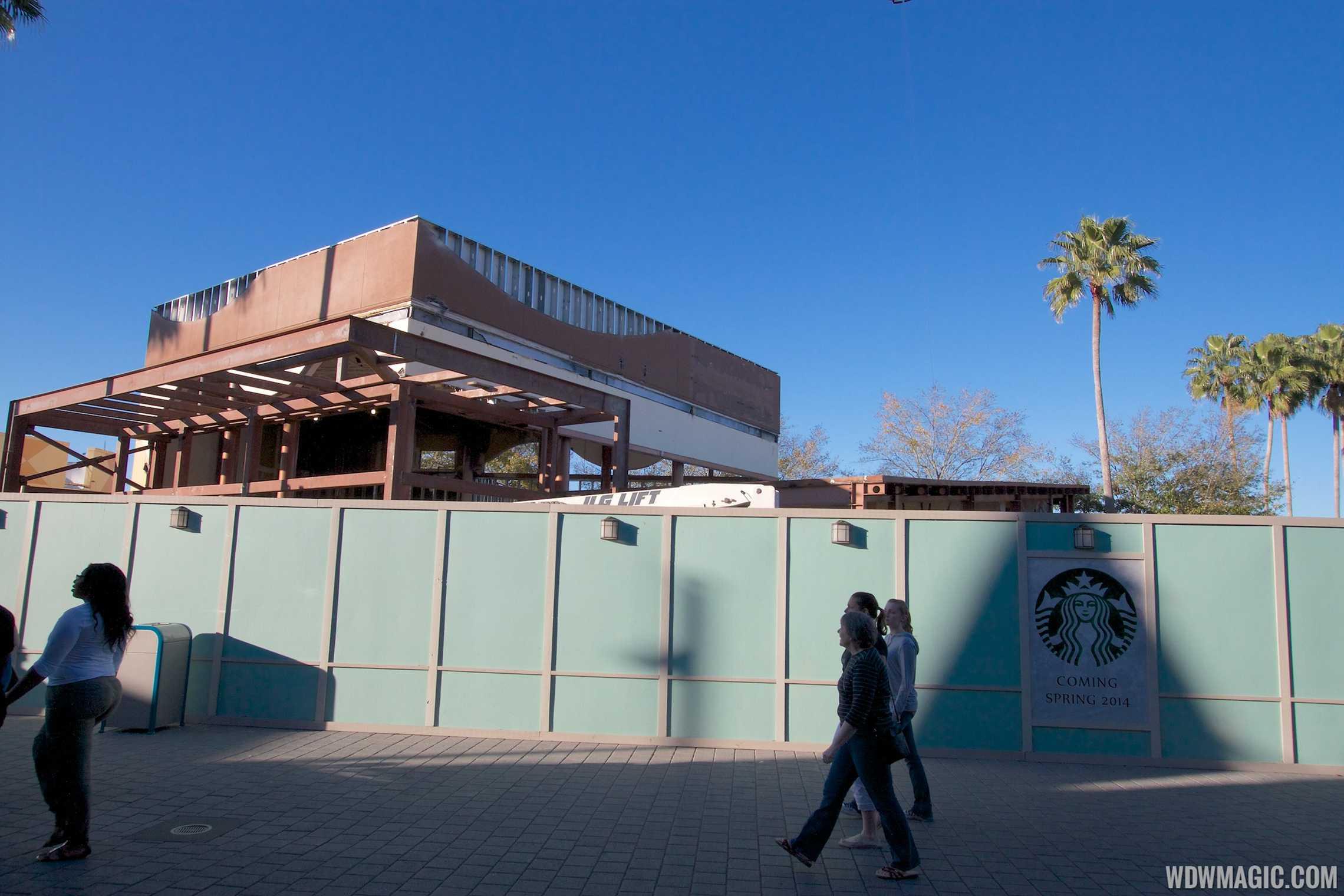 West Side Starbucks construction