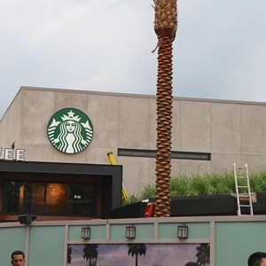 1 of 5: Starbucks West Side - Starbucks West Side construction