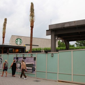 2 of 5: Starbucks West Side - Starbucks West Side construction
