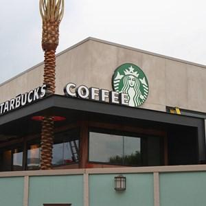 4 of 5: Starbucks West Side - Starbucks West Side construction