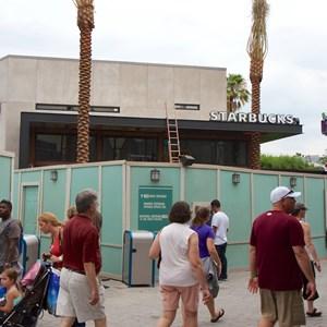 5 of 5: Starbucks West Side - Starbucks West Side construction