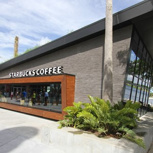 2 of 15: Starbucks West Side - Starbucks West Side exterior