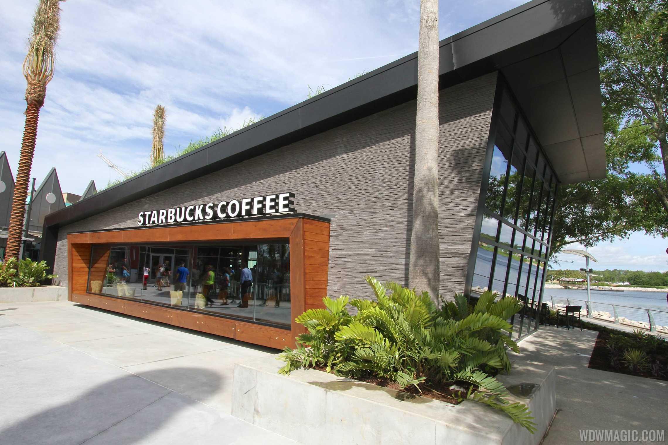 Starbucks West Side exterior