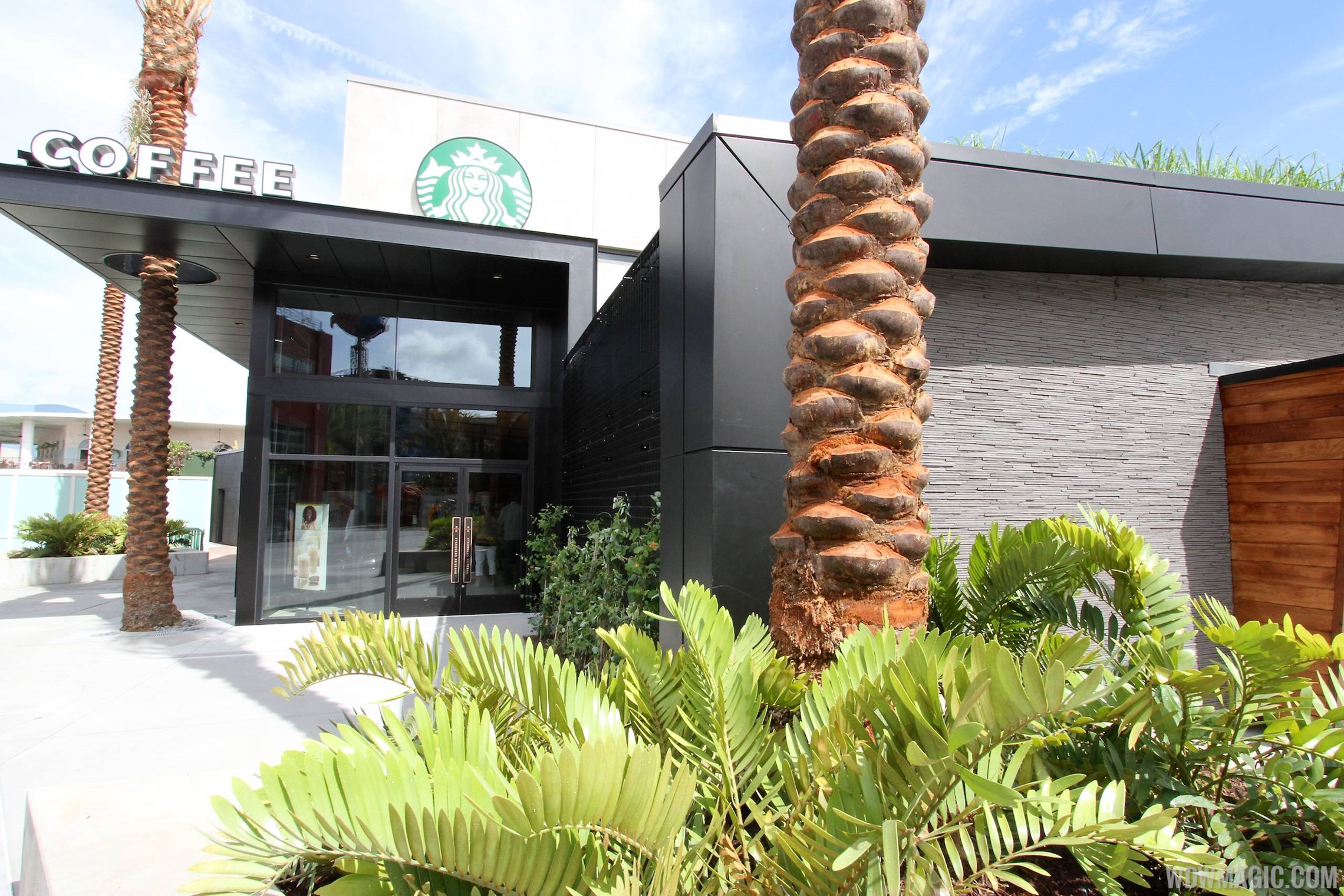 Starbucks West Side opening day - inside and out