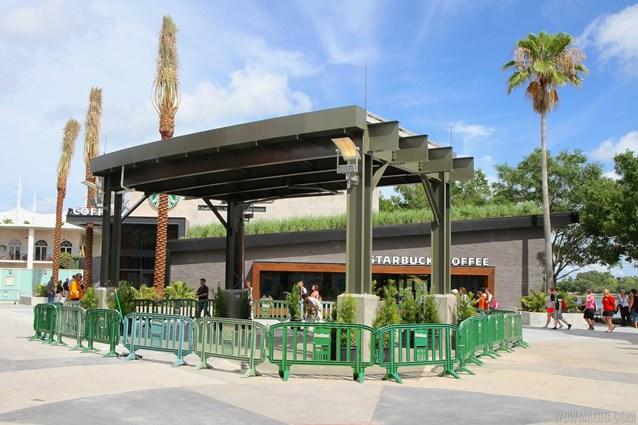 Starbucks West Side - Starbucks West Side exterior