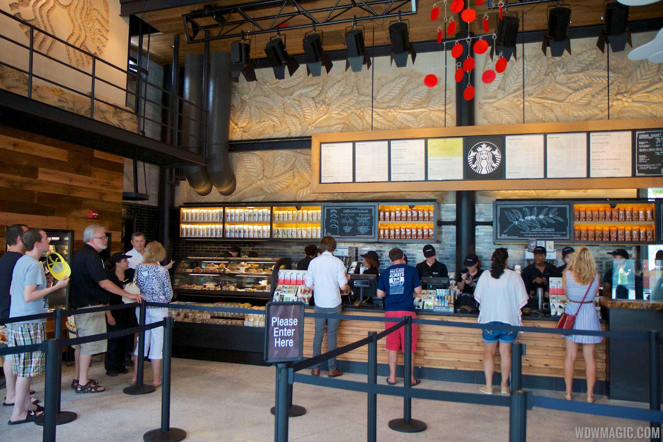 Inside the Starbucks West Side