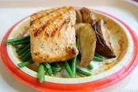 Oak-grilled Salmon
