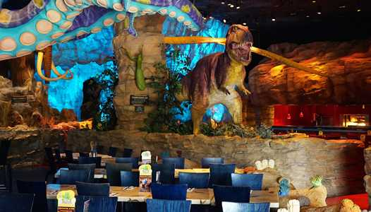 T-Rex Cafe at Disney Springs offering Breakfast with Santa