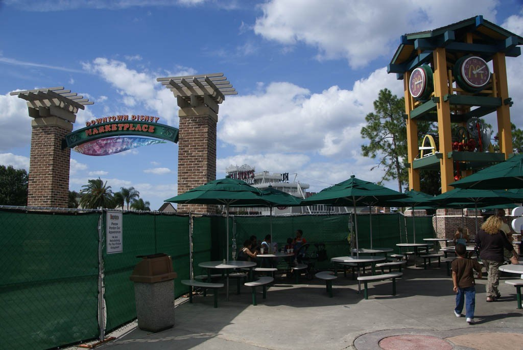 T-Rex construction about to begin at Downtown Disney