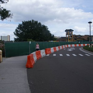 5 of 6: T-Rex - T-Rex construction about to begin at Downtown Disney