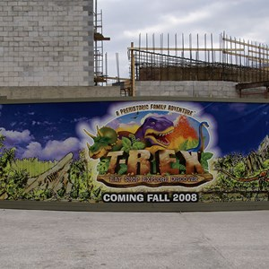 4 of 14: T-Rex - T-Rex restaurant construction