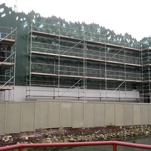 2 of 4: T-Rex - T-Rex restaurant construction