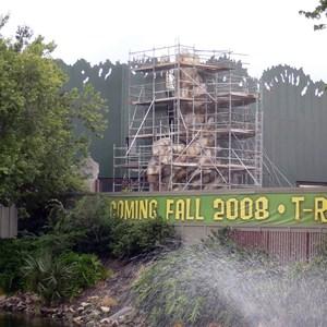 4 of 4: T-Rex - T-Rex restaurant construction