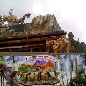 2 of 2: T-Rex - T-Rex restaurant construction
