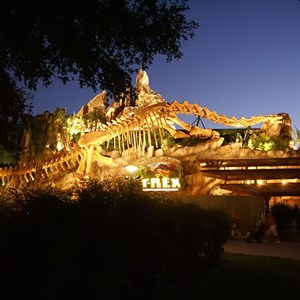 4 of 5: T-Rex - T-Rex restaurant construction