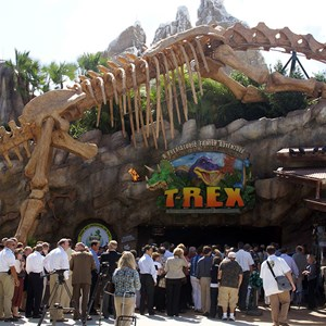 1 of 7: T-Rex - T-Rex now open to guests