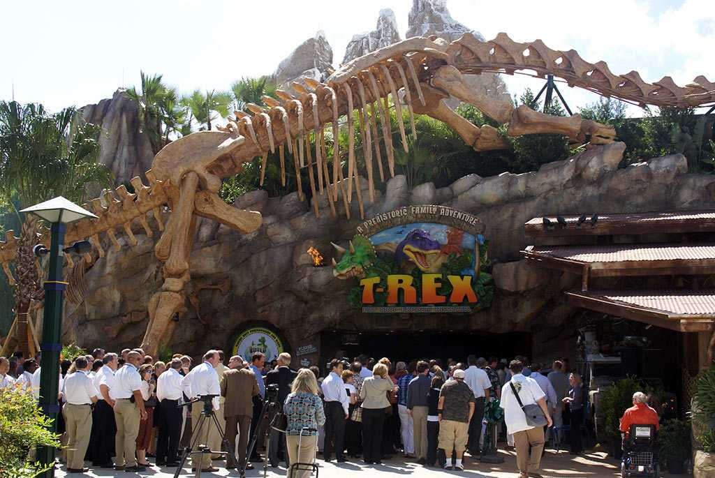 T rex now open to guests photo 1 of 7 for Disney dining plan t rex