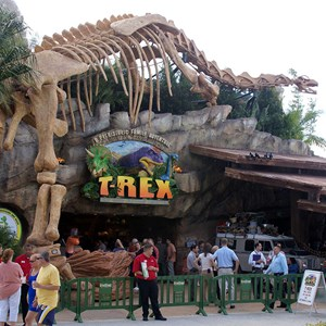 2 of 7: T-Rex - T-Rex now open to guests