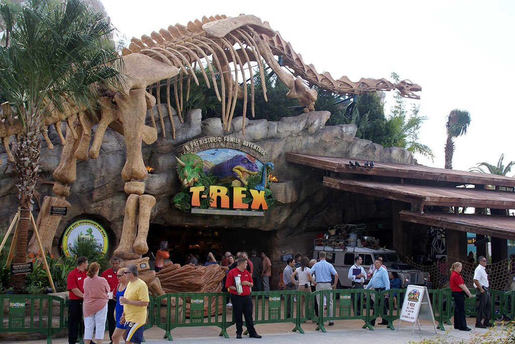 T-Rex now open to guests