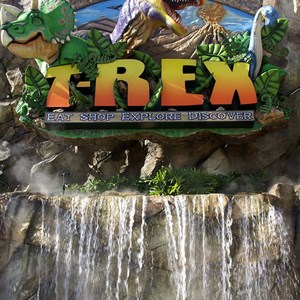 3 of 7: T-Rex - T-Rex now open to guests