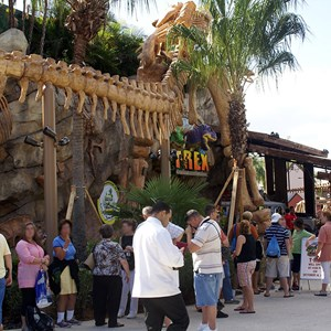 5 of 7: T-Rex - T-Rex now open to guests