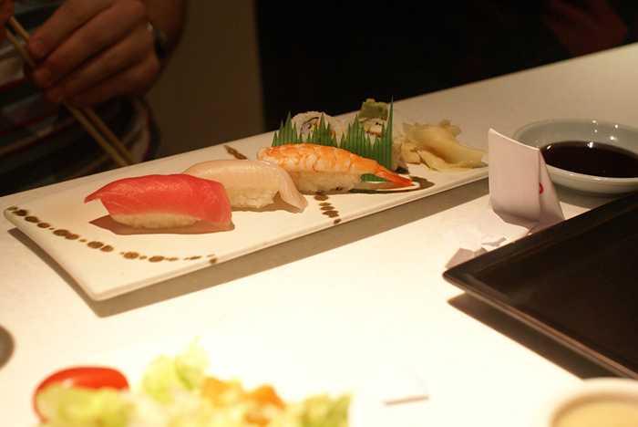 Teppan Edo food