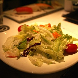 2 of 6: Teppan Edo - Garden Salad