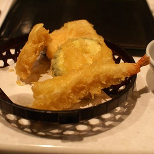 3 of 6: Teppan Edo - Assorted Tempura - Shrimp, Chicken, Seasonal Vegetables