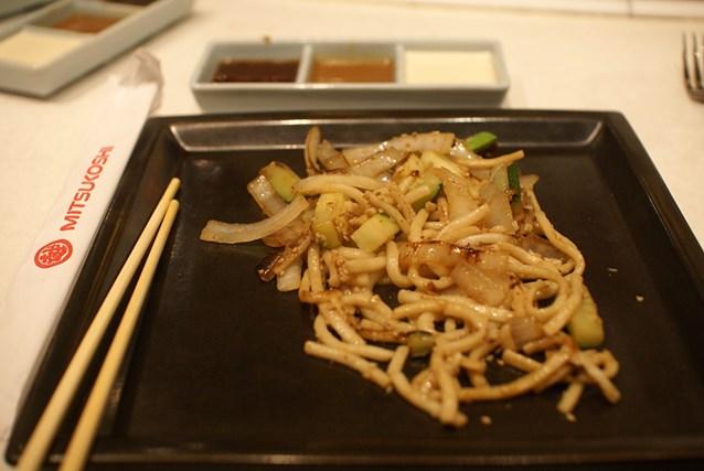 Teppan Edo - Udon Noodles