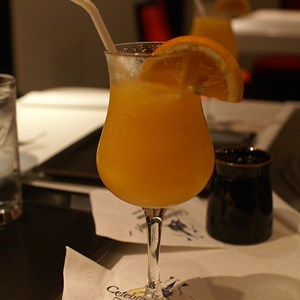 6 of 6: Teppan Edo - Speciality Mandarin Orange drink