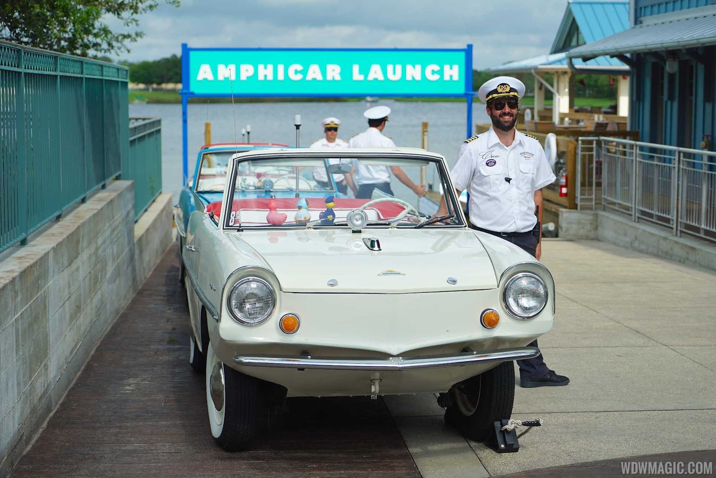 Amphicar at The BOATHOUSE
