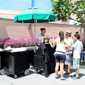 2 of 3: The Hollywood Brown Derby - Outdoor Bar service