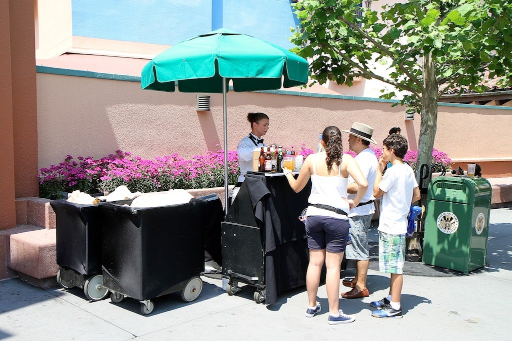 Outdoor Bar service