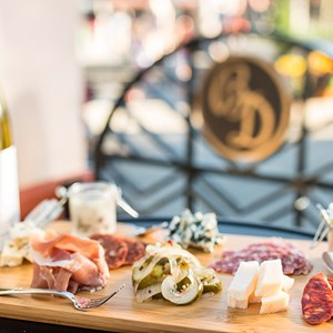 3 of 4: The Hollywood Brown Derby - The Hollywood Brown Derby Lounge - Charcuterie