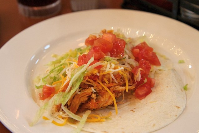 The Pepper Market - Chicken taco