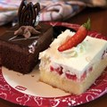 Pepper Market - Chocolate cake and Strawberry cake