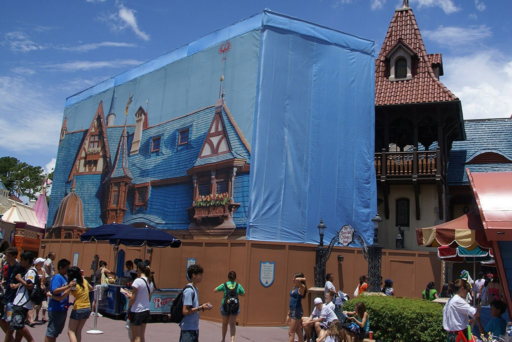 Pinocchio Village Haus exterior refurbishment