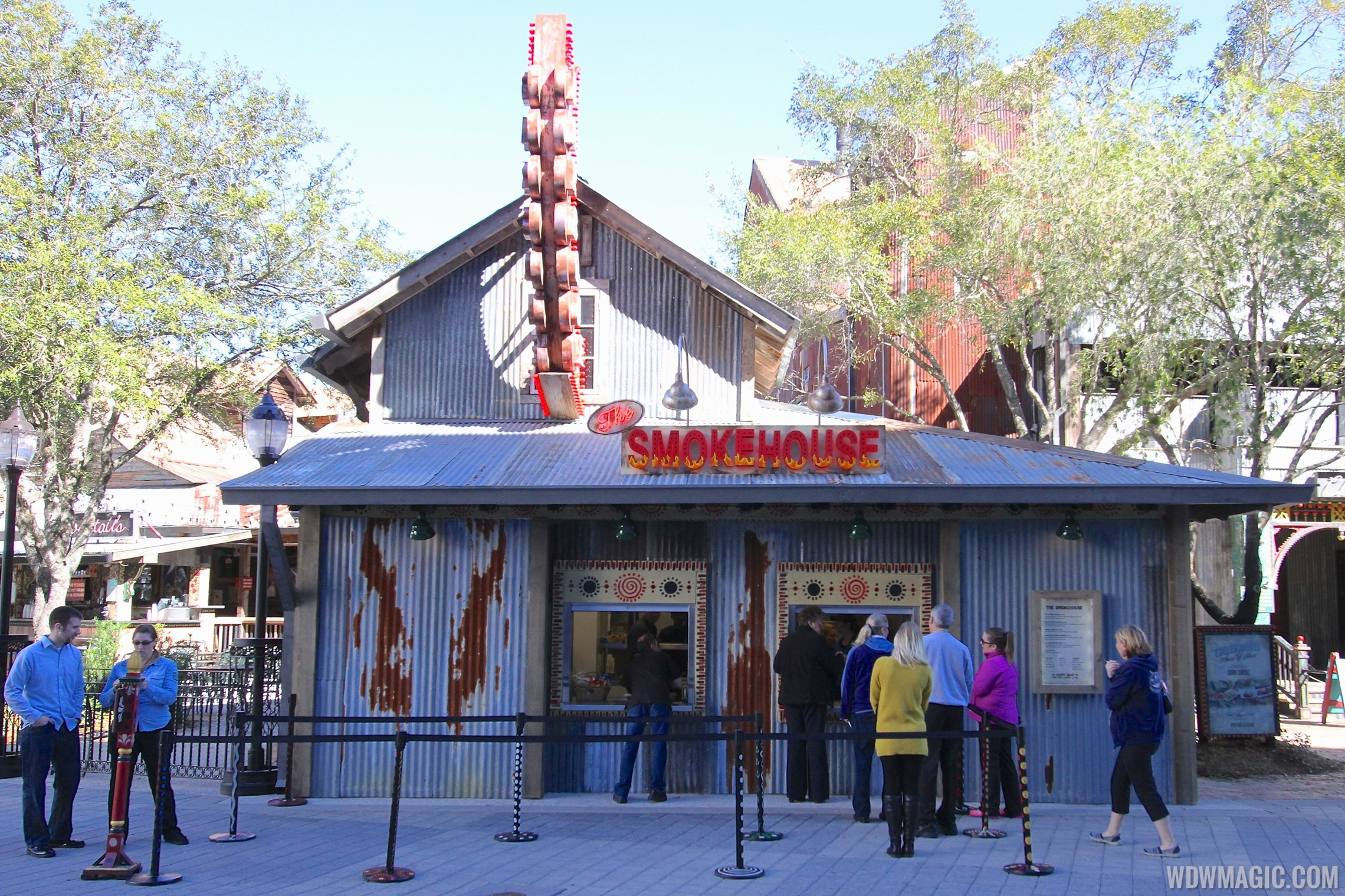 The Smokehouse BBQ at House of Blues