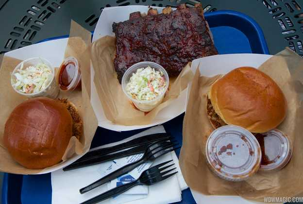 The Smokehouse BBQ menu items