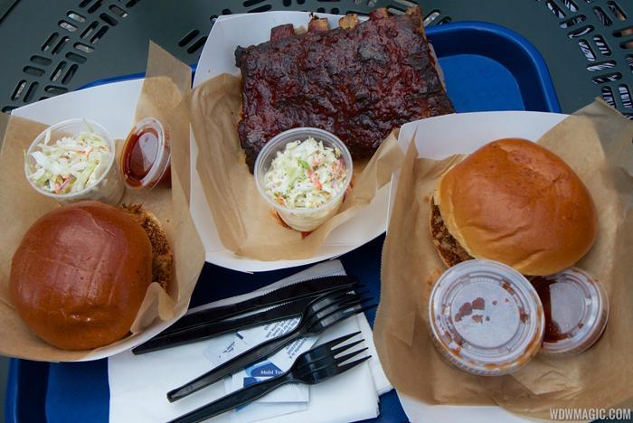 The Smokehouse BBQ menu items