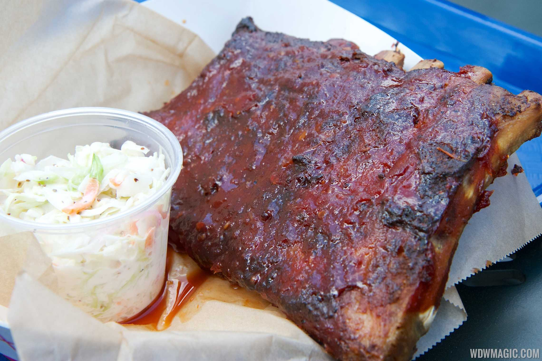 The Smokehouse - Half rack of ribs